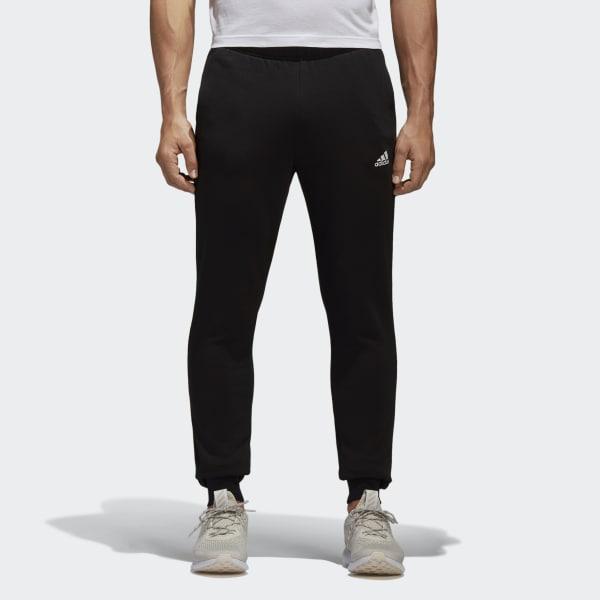 Pantaloni Essentials French Terry Nero BK7441