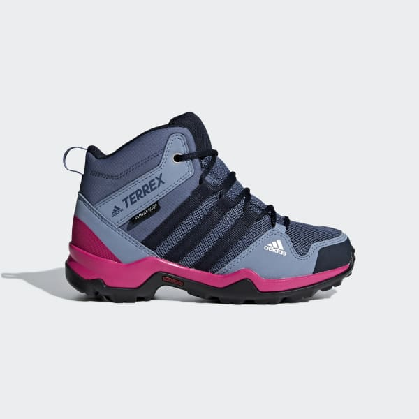 Terrex AX2R Mid Climaproof Shoes Blue AC7976
