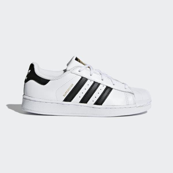 Chaussure Superstar blanc BA8378