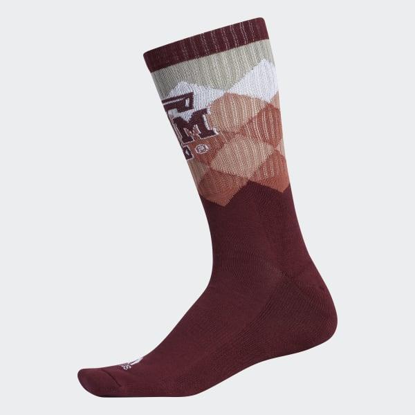 Aggies Crew Socks 1 Pair Multicolor CQ4191