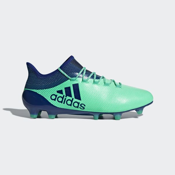 X 17.1 Firm Ground Cleats Green CP9163