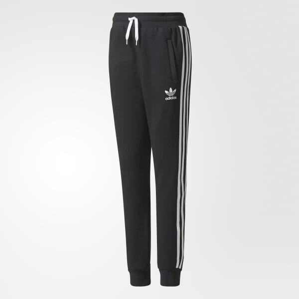 Trefoil Fleece Tiro Pants Black BQ3953