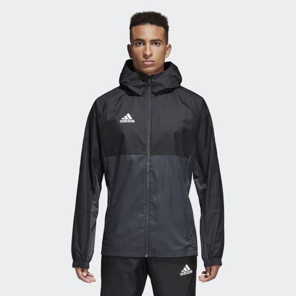 Tiro 17 Rain Jacket Black AY2889