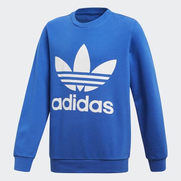 Trefoil Sweatshirt blau CF8566
