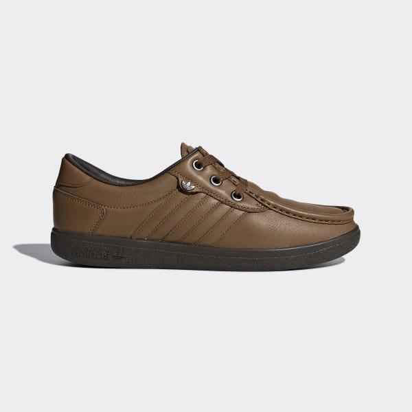Punstock SPZL Schuh braun B41826