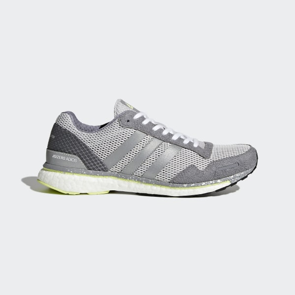 adizero Adios 3 Shoes Grey BB6410