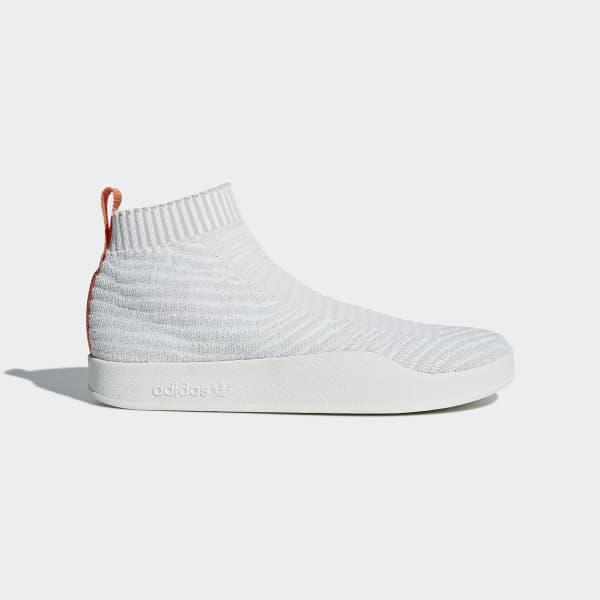 Chaussure Adilette Primeknit Sock blanc CM8226