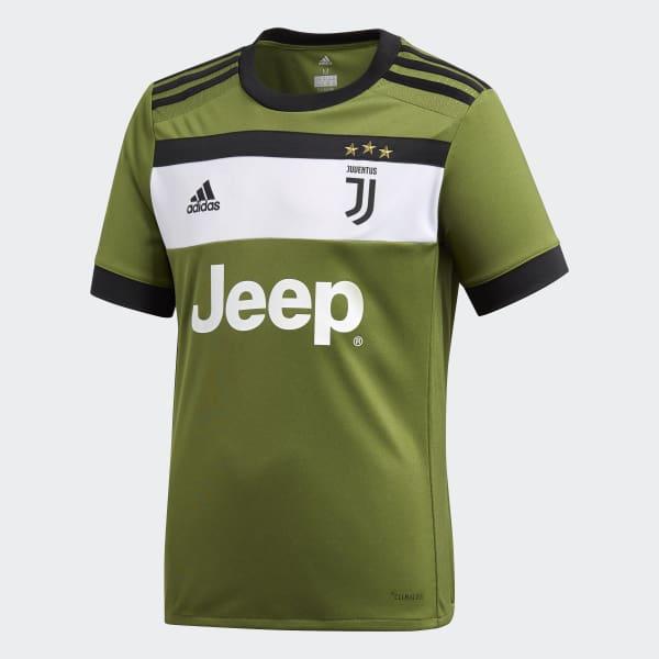 Juventus Third Jersey Green AZ8684