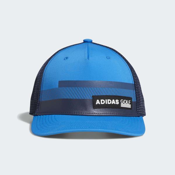 Stripe Trucker Hat Blue CY9733