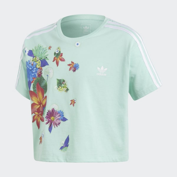 Camiseta GRPHC Cropped Verde CE1094