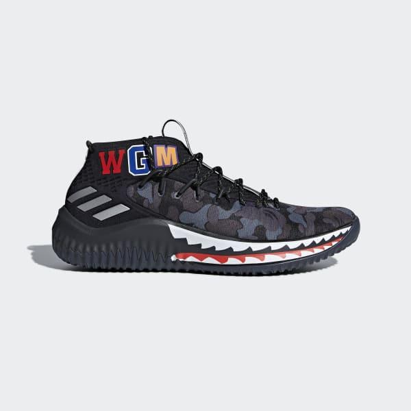 Dame 4  BAPE Shoes Grey AP9975