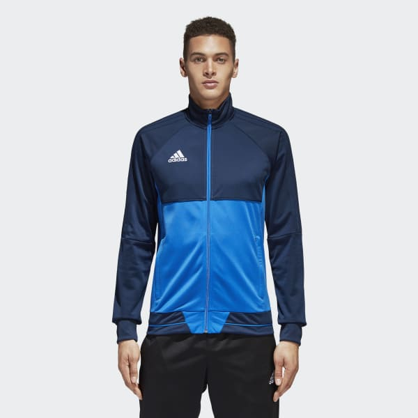 Tiro 17 Trainingsjacke blau BQ2597