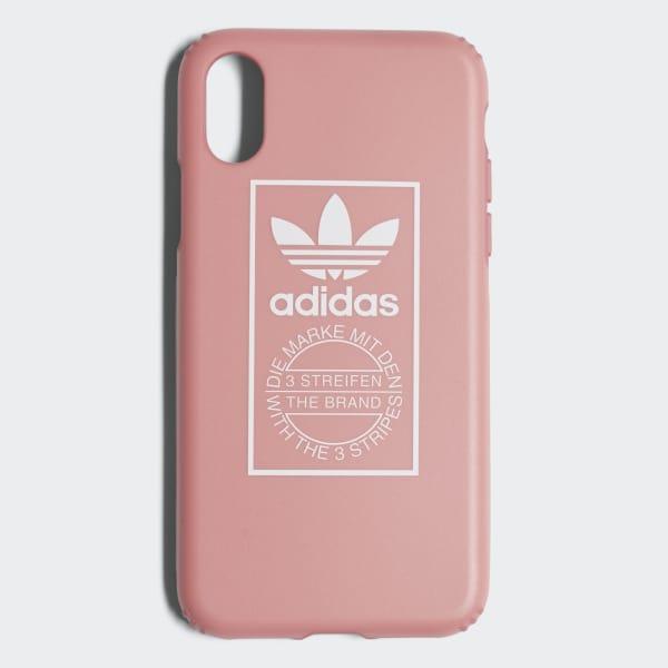 TPU Hard Cover iPhone X Schutzhülle rosa CJ6206