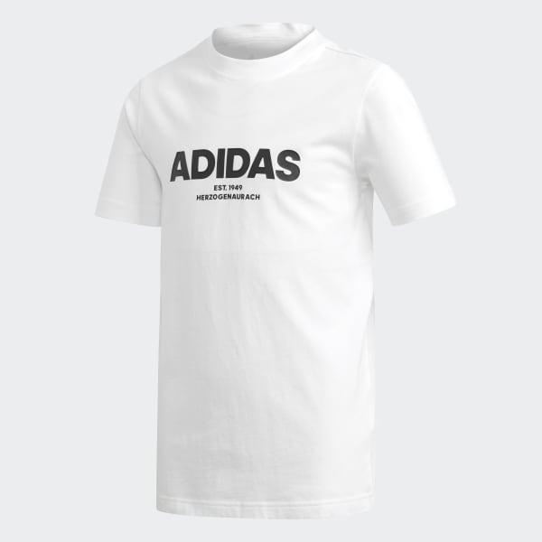 All Caps T-Shirt weiß DJ1761