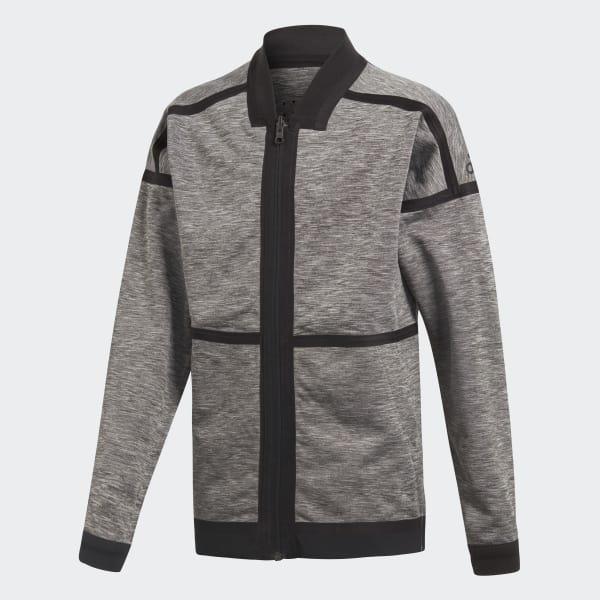 Veste adidas Z.N.E. Reversible Anthem marron CF6471