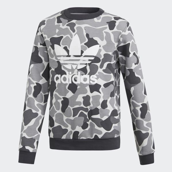Camo Trefoil Sweatshirt mehrfarbig DH2709
