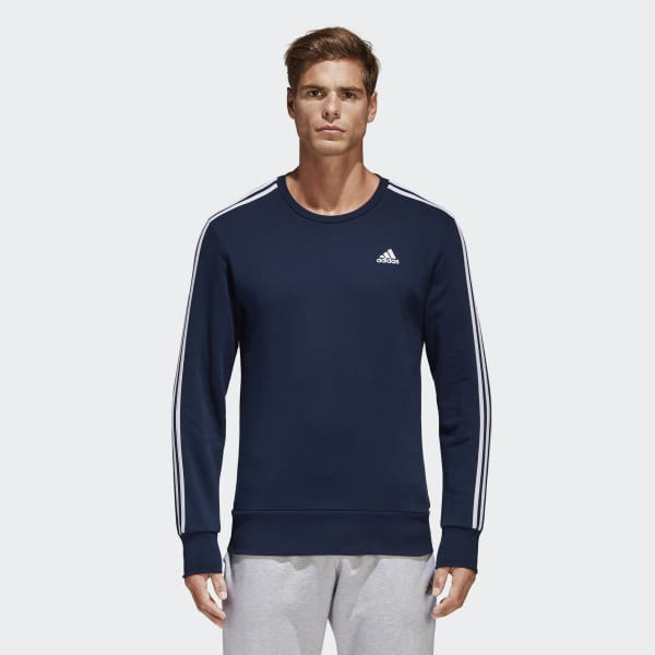 Essentials 3-Stripes Sweatshirt blauw B45731