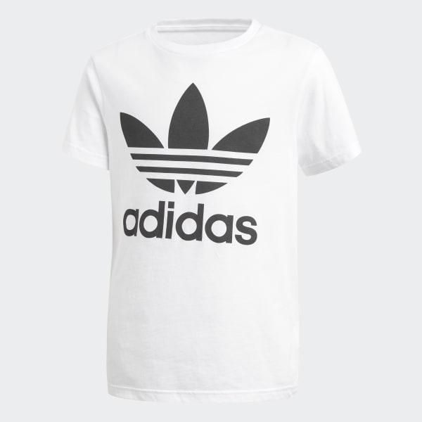 T-shirt Trefoil Bianco CF8546