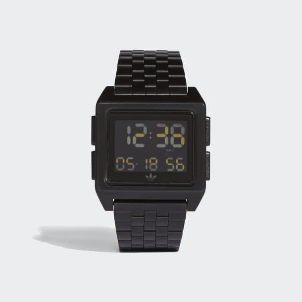 ARCHIVE_M1 Horloge zwart CJ6306