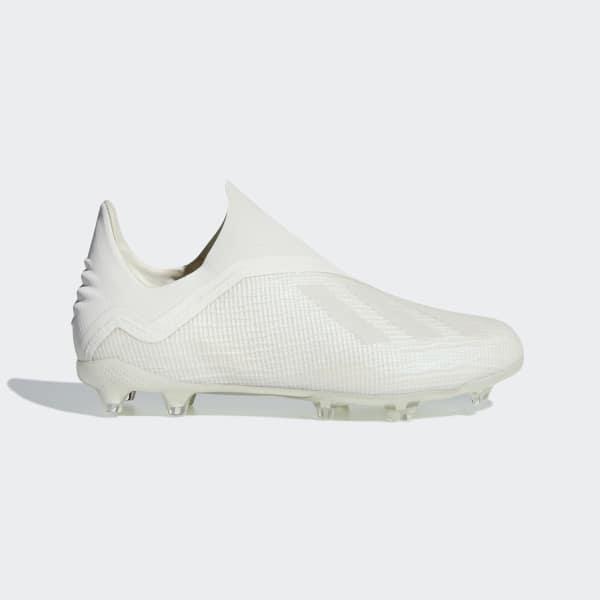 X 18+ Firm Ground Boots White DB2283
