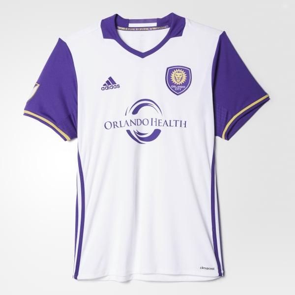 Orlando City SC Away Replica Jersey White AK0593