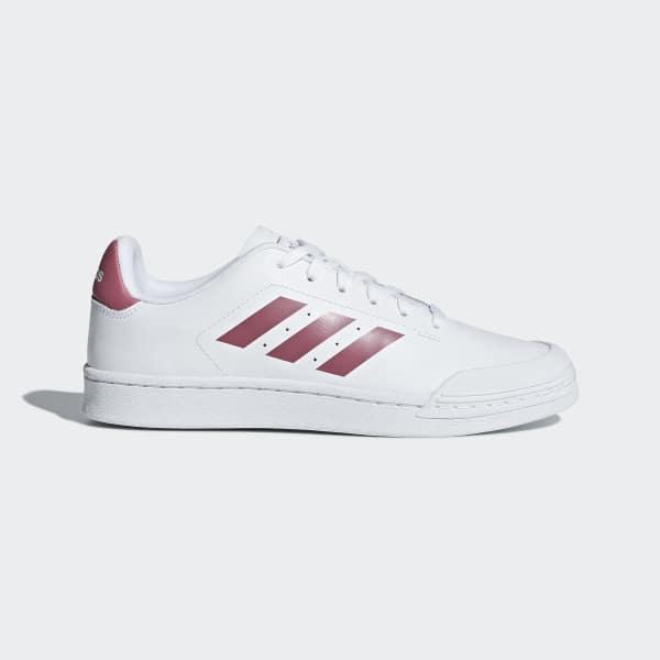 Chaussure Court 70s blanc B96215