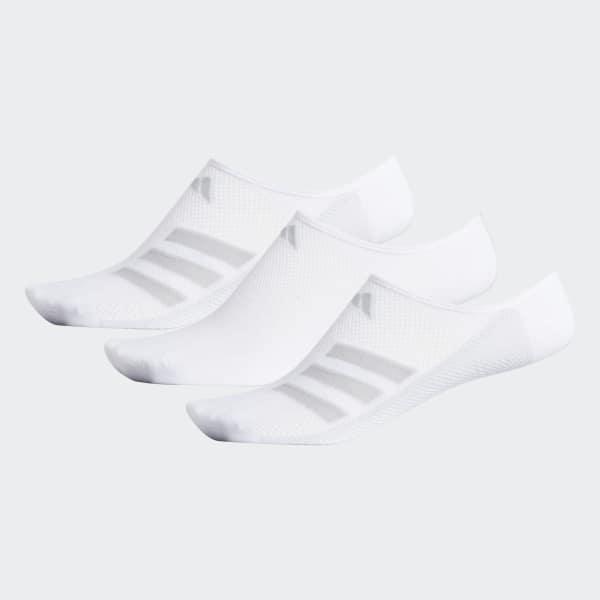 Climacool Superlite Stripe No-Show Socks White CJ0634
