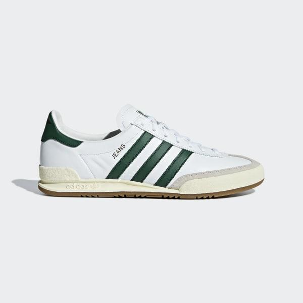 Jeans Schuh weiß BB7440