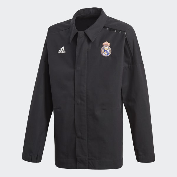 Real Madrid adidas Z.N.E. Jacket Black CY8287