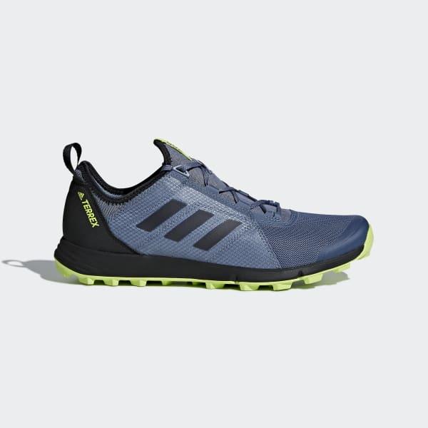 Chaussure Terrex Agravic Speed bleu CM7579