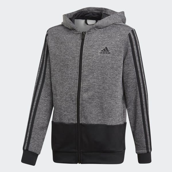 Veste à capuche Training Gear Up Full Zip gris CF7088