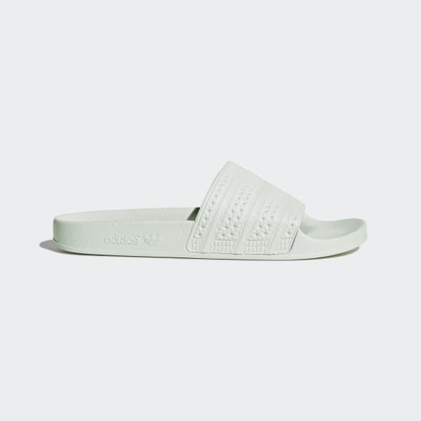 Sandale adilette vert BA7540