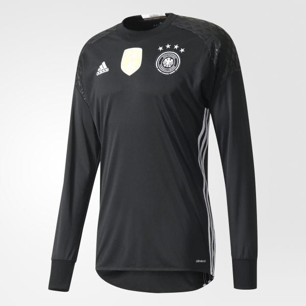 UEFA EURO 2016 DFB Torwart-Heimtrikot schwarz AA0126