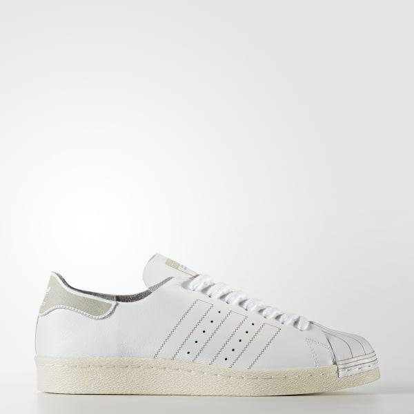 Superstar 80s Decon Schoenen wit BZ0109