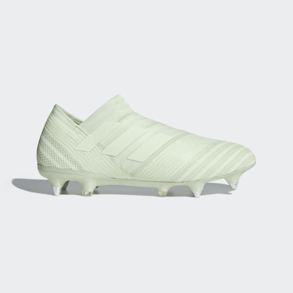 Calzado de fútbol Nemeziz 17+ 360 Agility Terreno Firme Verde CP8941