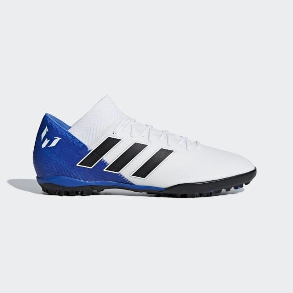 Zapatos de Fútbol Nemeziz Messi Tango 18.3 Césped Artificial Blanco DB2220