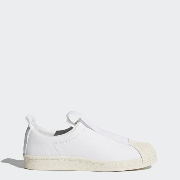 Chaussure Superstar BW Slip-on blanc BY9139