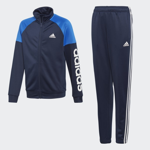 Linear Track Suit Blue DI0180