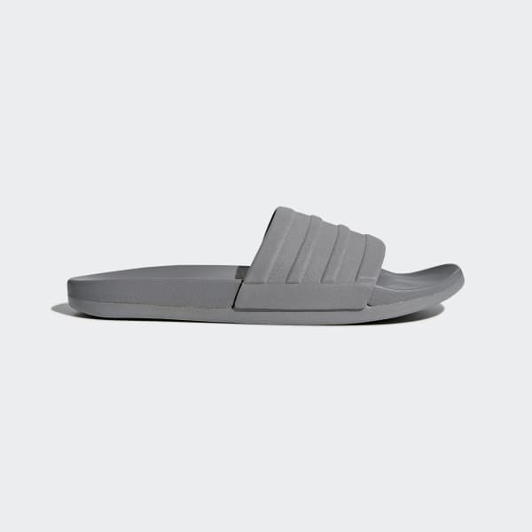 adilette Cloudfoam Plus Mono Slides Grey S80977