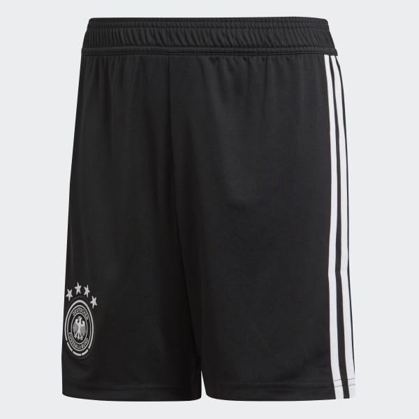 Pantaloneta Oficial Selección de Alemania Local Niño 2018 Negro BQ8465
