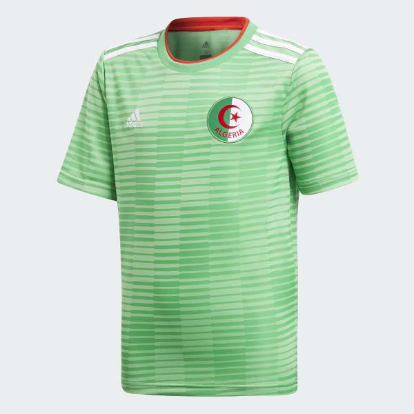 Algeria Away Jersey Green CF4037