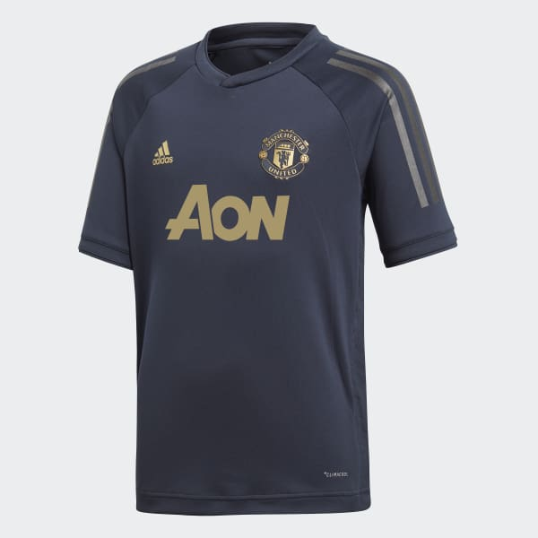 Manchester United Ultimate Trainingsshirt blauw CW7580