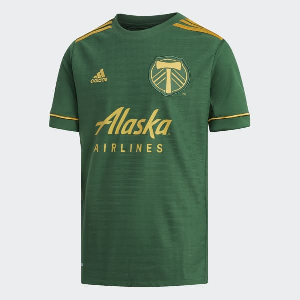 Timbers Home Jersey Green AY7055