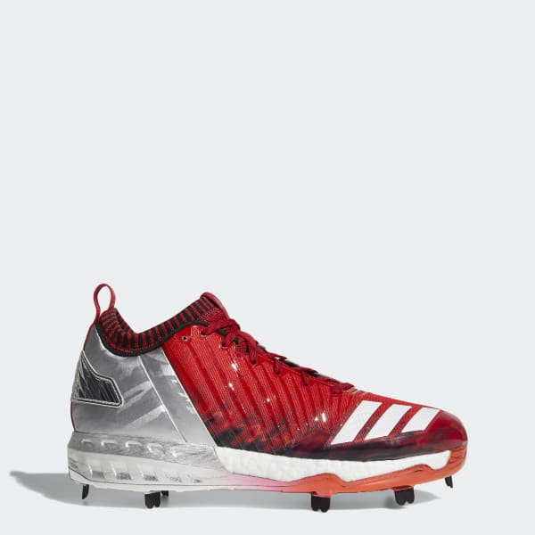 Boost Icon 3 Faded Cleats Red BY3682
