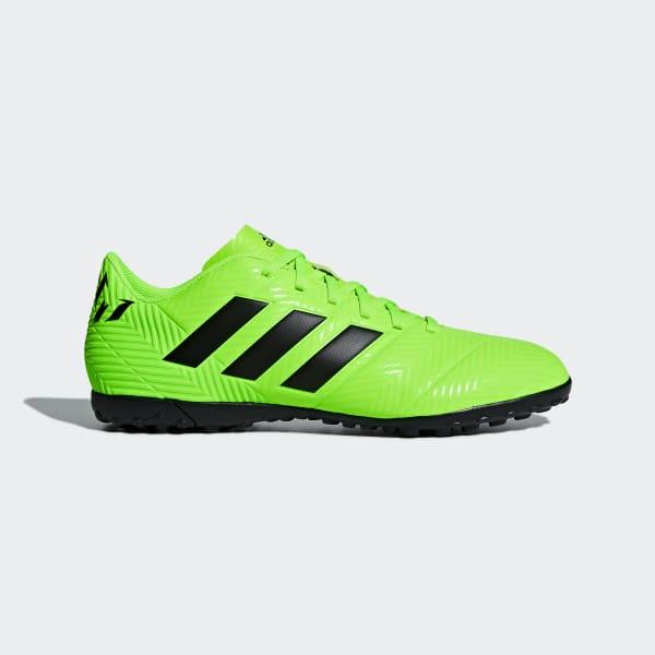 Calzado de Fútbol Nemeziz Messi Tango 18.4 Pasto Sintético Verde AQ0623