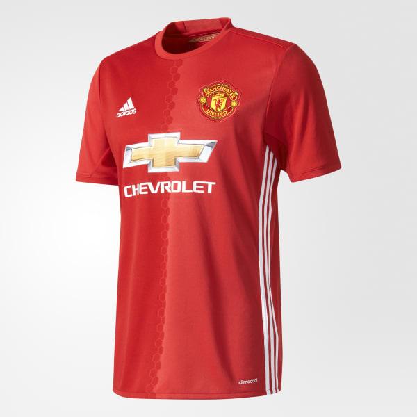 Maillot Manchester United FC Domicile Replica rouge AI6720