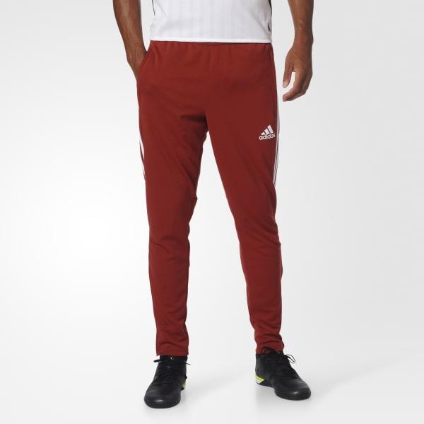 Tiro 17 Training Pants Red BS3677