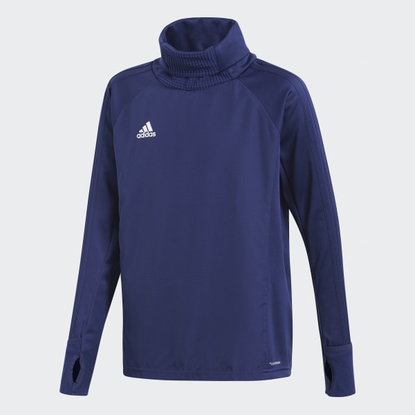 Sudadera Condivo 18 Player Focus Warm Azul CF4348