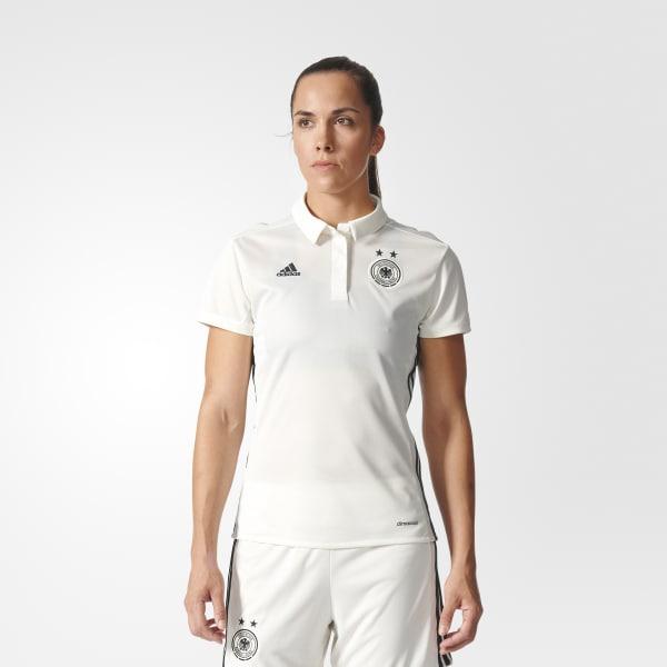 Camiseta primera equipación Alemania Blanco S98268