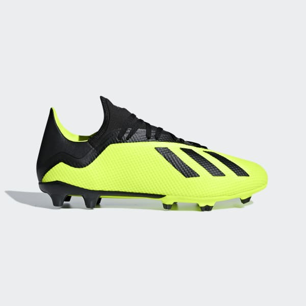 X 18.3 Firm Ground Cleats Yellow DB2183